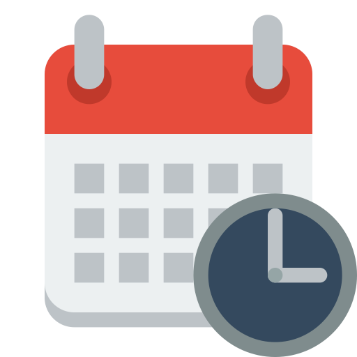 This image has an empty alt attribute; its file name is 678120-calendar-clock-512.png